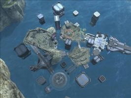 Halo Reach Map: Halo Storm by KindiChan