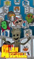 Guardians of the Galaxy by AlanSchell