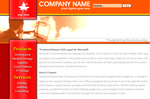 Red Business Template by mzm