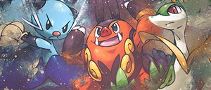 Trio Evolution 1 Sign by LittleManaphy