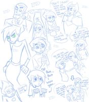 DP: Sketch Dump by Twilight-Deviant