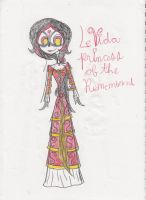 TheBookOfLife Le Vida, Princess of the Remembered by Zikka