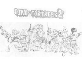 Dino Fortress 2 by TheMacronian