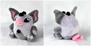 Grumpig Pokedoll by xSystem