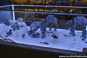 #9 Photo from Lego Exhibition - Robots in Snow by LynnsMind