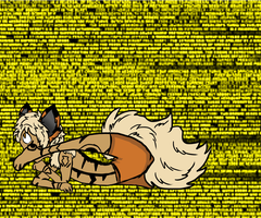 Bendy Arcanine Boy by AgenderedKing