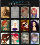 2015 Art Summary by CalmMart