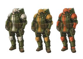 heavy soldiers by TugoDoomER