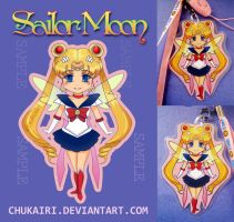 Sailor Moon- Keychain by Chukairi