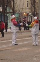 Olympic flame in Rostov - on - Don (Russia) _01 by KovLi
