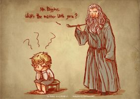What's the matter with you, Mr. Baggins? by haleyhss