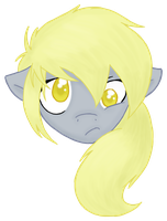 Humanpony - Derpy Hooves by EeveeTofu