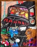 The car chase scene short one comic by 932-2063