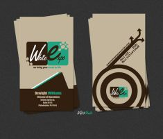 WhiteExpo Business Card by NG25Lab