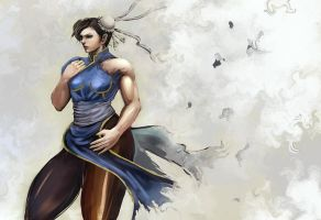 Chun-Li 2 by Gold-copper