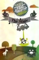 The Stage POSTER BILL by stevenandrew