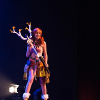 Me during the cosplay Fashion show! by KellywoeshxD