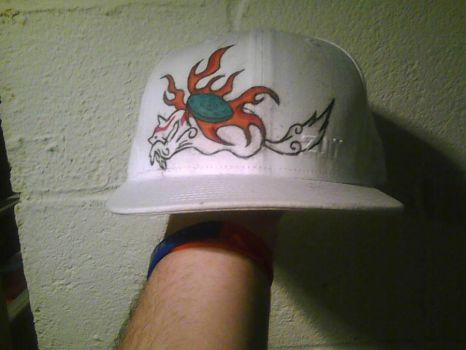 Okami Hat Numbah 100 by finaleve