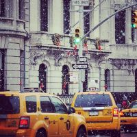 It's snowing in NYC by perfect-dream