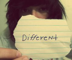 Dare To Be Different. by FreeTheSanity