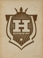 HIPHOP.RU +logotype+ by trueplayers-studio