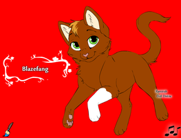 Blazefang by Wanderisawesome