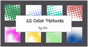 12 Color Textures by lilapurple
