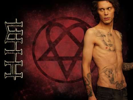 HIM - Ville Valo Wallpaper by MadelineHayes
