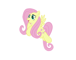 Fluttershy is Happy by Here-for-the-ponies