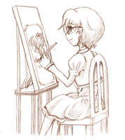 PT - Malen - Sketching by amako-chan