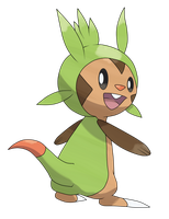 Chespin by TheAngryAron