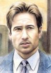 David Duchovny miniature by whu-wei
