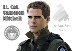 SG-1: Cameron Mitchell - Finis by jagwriter78