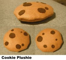 Cookie Plushie by TombRaiderKuchen