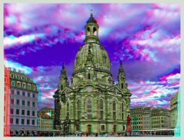 Dresden Frauenkirche ::: Anaglyph HDR 3D by zour