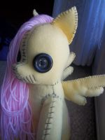 Fluttershy the Loudmouth by charletothemagne