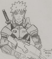 Naruto Mass Effect Crossover by RudeKaiser396