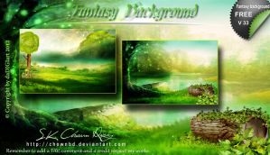 Fantasy Background v33 by DIGI-3D
