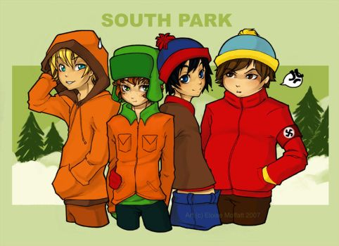 South Park: Come meet someone by Kinky-chichi