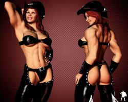 Cowgirl by Supro3D