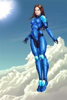Blue Armor by EvilFlesh
