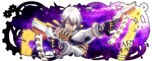 Haseo firma by StormCross