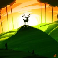 King Of The Hill by dakalister