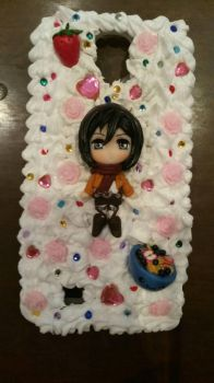 Attack on titan decoden phone case by SimonaZ