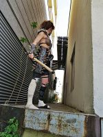 Fallout 3 - Raider (Painspike armor) by antaale