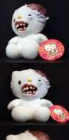 Zombie Hello Kitty by DovSherman