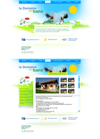 Camping webdesign by Mstarback