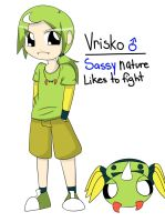 Vrisko Gijinka by NickTheWitch