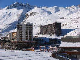 Tignes by day... by Sikthy-Mish