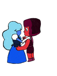 Ruby And Sapphire by BassBunniOfficial